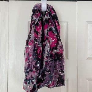 Candie's Floral Infinity Scarf